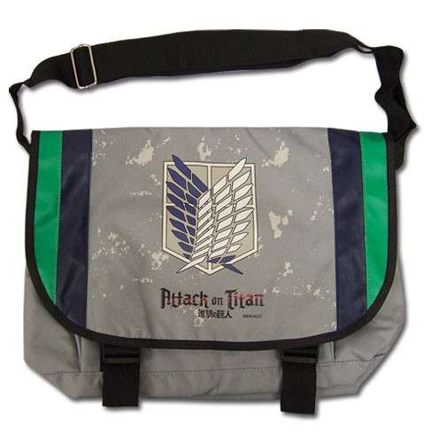 ATTACK ON TITAN - SCOUT REGIMENT MESSENGER BAG