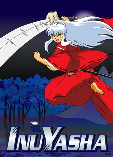 Inuyasha In Forest Night Wall Scroll
