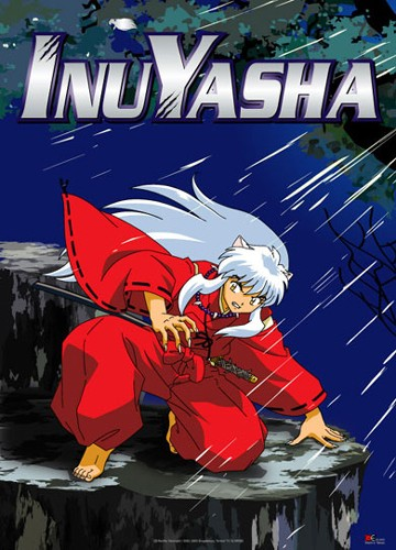 Inuyasha In Forest Wall Scroll
