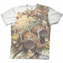 Attack on Titan Cadet Corp Group sublimated T-shirt