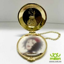 Black Butler Pocket Watch Gold - Beast