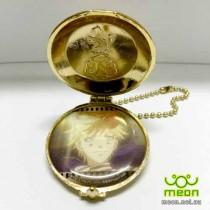 Black Butler Pocket Watch Gold - Dagger