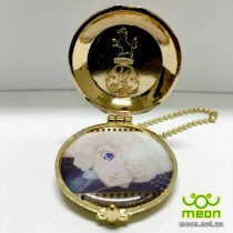 Black Butler Pocket Watch Gold - Doll