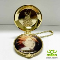 Black Butler Pocket Watch Gold - Joker