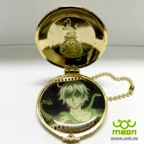Black Butler Pocket Watch Gold - Snake