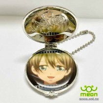 Black Butler Pocket Watch Silver - Ciel (A)
