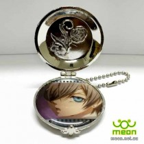 Black Butler Pocket Watch Silver - Ciel (B)