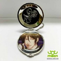 Black Butler Pocket Watch Silver - Sebastian