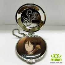 Black Butler Pocket Watch Silver - Sebastian (Phone)
