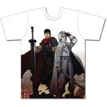 BERSERK - GUTS AND GRIFFITH SUBLIMATION T-SHIRT