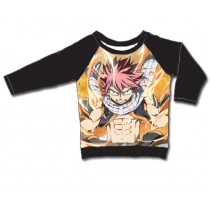 FAIRY TAIL - NATSU LIGHTNING FIRE MODE LONG SLEEVE PULLOVER